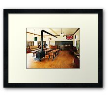No. 14 Schoolhouse (Petrolia Discovery) Framed Print