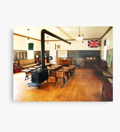 No. 14 Schoolhouse (Petrolia Discovery) Metal Print