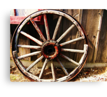 Wagon Wheel (Petrolia Discovery) Canvas Print
