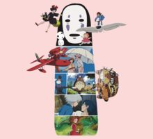 No Face-Hayao Miyazaki Films Baby Tee
