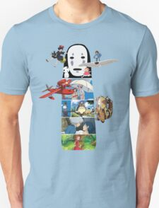 No Face-Hayao Miyazaki Films T-Shirt