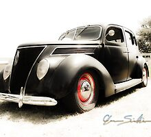 Hot 39 Ford Five Window by ChasSinklier