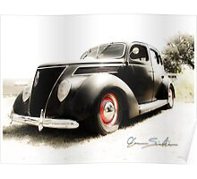 Hot 39 Ford Five Window Poster