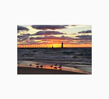 Sunset Manistee Michigan Style Unisex T-Shirt