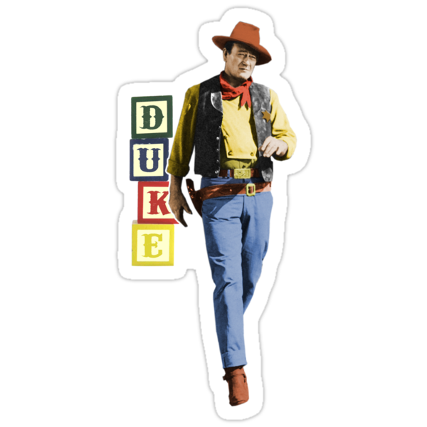 'Sheriff Wayne' (Toy Story / John Wayne) by James Hance