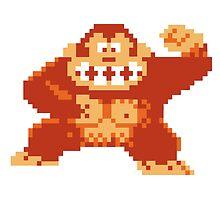 Donkey Kong 8 Bit by adovemore