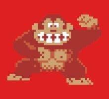 Donkey Kong 8 Bit One Piece - Short Sleeve
