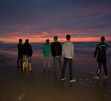 Pismo Beach Sunset (dedicated to BONUS) by trevorjh