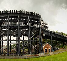 Anderton Canal Lift, Cheshire by Simon Duckworth