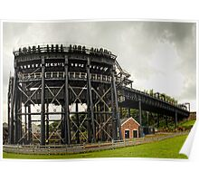 Anderton Canal Lift, Cheshire Poster