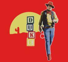'Sheriff Wayne' (Toy Story / John Wayne) T-Shirt - Design #2 Kids Clothes