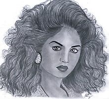 Divya Bharti (February 25, 1974 – April 5, 1993)  by Bobby Dar