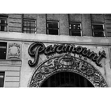 paramount hard rock building - nyc Photographic Print