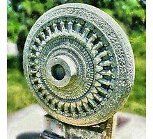 Dharma Chakra Photographic Print