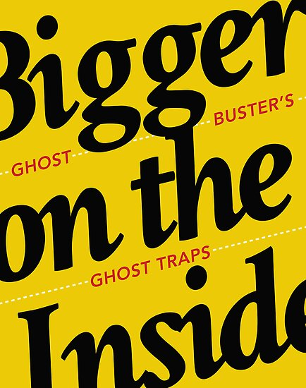 Bigger on the Inside GHOSTBUSTERS by zerobriant