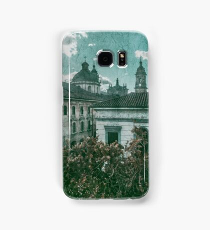 Colonial Architecture at Historic Center of Bogota Colombia Samsung Galaxy Case/Skin