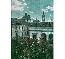 Colonial Architecture at Historic Center of Bogota Colombia Photographic Print