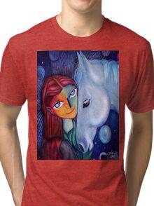 fairy wings Tri-blend T-Shirt