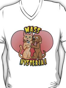 Dogs and Cats Living Together... T-Shirt