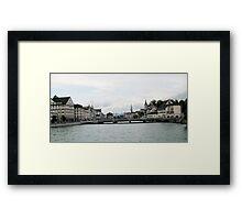 Zurich Bridge Framed Print