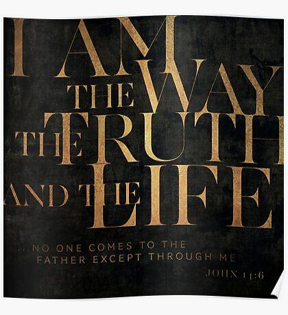 John 14:6 II Poster