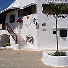 A white village in Menorca. by Fara