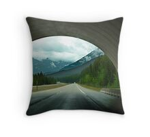 Wildlife Overpass Throw Pillow