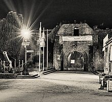 Night Castle - Ludlow by mumblebug