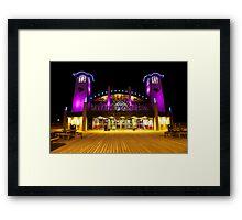 Neon Holidays Framed Print