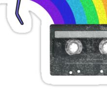 Rainbow Cassette Sticker