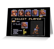 Streets of Rage 3 – Select Roo Greeting Card