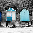 Beach Huts at Wells by Imaginato