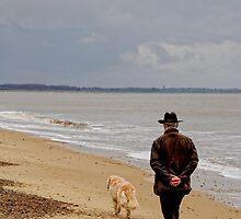 Walking the Dog by Karen  Betts
