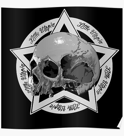 Skull Little Utopia Poster