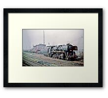 Behind the Iron Curtain: Russian Red Star Train  Framed Print