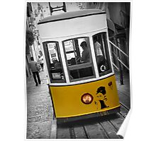 Taking the Tram with Audrey Hepburn Poster