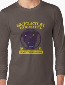 Skeletor High School Long Sleeve T-Shirt