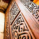Carved Door by Hena Tayeb