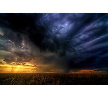Storm over Nebraska Photographic Print