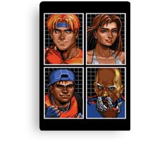 Streets of Rage 3 – Character Bio Pictures Canvas Print