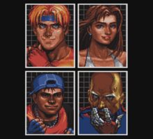 Streets of Rage 3 – Character Bio Pictures by PonchTheOwl