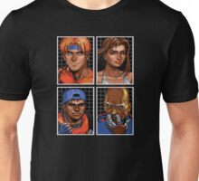 Streets of Rage 3 – Character Bio Pictures Unisex T-Shirt