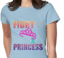 Fight Like A Princess Womens Fitted T-Shirt