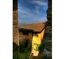 Todi, Italy Photographic Print