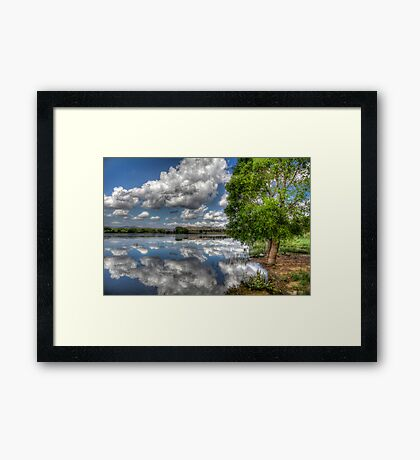 Off Shore Sky Framed Print