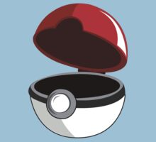 Just a Pokeball Baby Tee