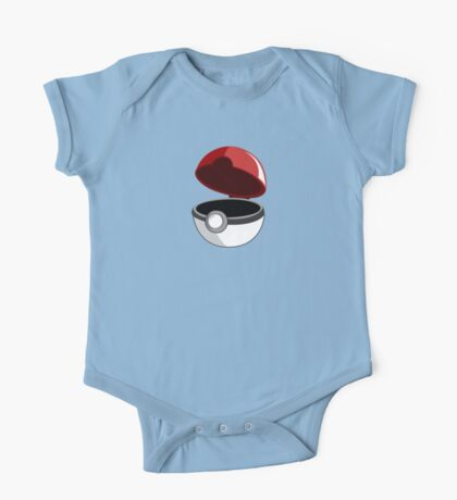 Just a Pokeball One Piece - Short Sleeve