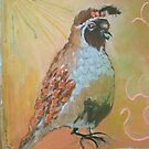 Sun King of Quail Love by Kay Hale