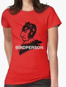 Bird Person Womens Fitted T-Shirt