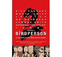 Bird Person Photographic Print